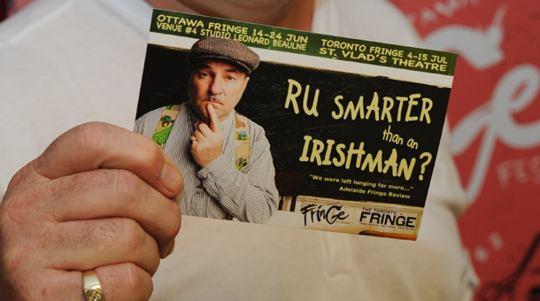 REVIEW: R U Smarter Than an Irishman @ Ottawa Fringe 2012