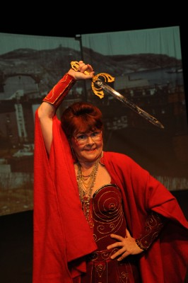 Mary Walsh in Dancing With Rage, presented at the Great Canadian Theatre Company