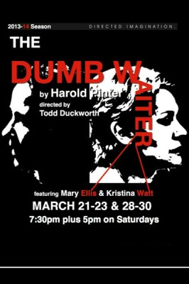 The Dumb Waiter: presented by Third Wall Theatre