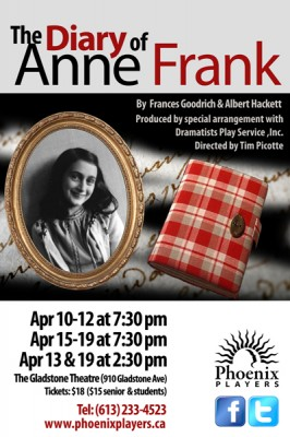 The Diary of Anne Frank, presented by The Phoenix Players