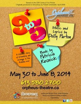 9 to 5: The Musical - presented by Orpheus Musical Theatre Society