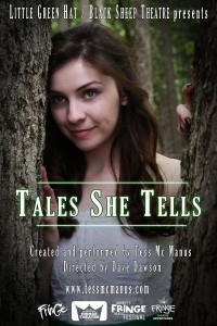 Fringe 2014 Preview: Tales She Tells, presented by Little Green Hat/Black Sheep Theatre