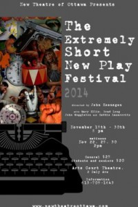 The Extremely Short New Play Festival (New Theatre of Ottawa)