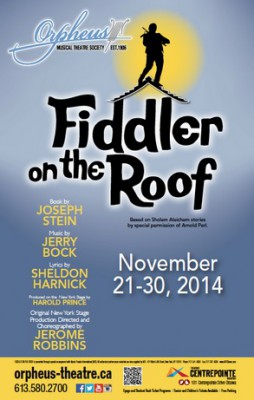Fiddler on the Roof, by Orpheus Musical Theater Society
