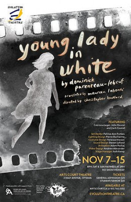 The Young Lady in White, by Evolution Theater