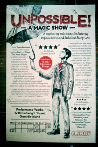 Unpossible! A Magic Show (Montreal Fringe)