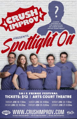 Spotlight On at Ottawa Fringe 2015