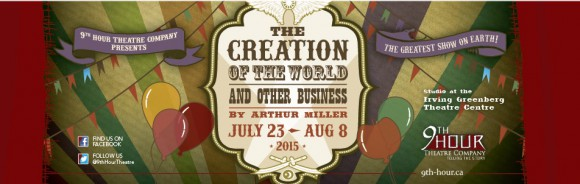 The Creation of the World and Other Business, Presented by 9th Hour Theater Company