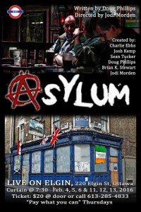 Raise your glass to Asylum: a boozy play that's more than what it seems