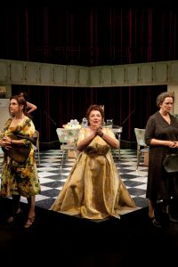 Trading stamps, bingo calling & cat fights abound in Belles Soeurs: The Musical
